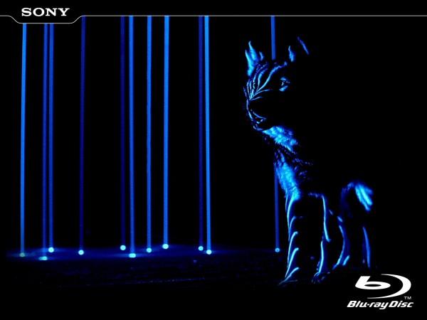 Sony Blu-Ray Laser Effects