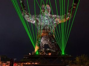 Glastonbury Silver Hayes  Laser Effects