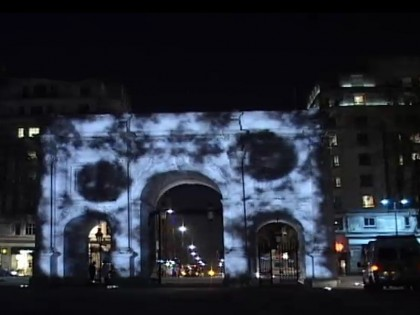 Marble Arch Video Building Projection Mapping
