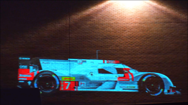 Audi Video Building Projection in London